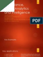 Surveillance Video Analytics & Intelligence