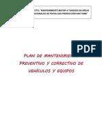 Plan de mantenimiento preventivo y correctivo de vehículos y equipos San-Tomé.docx