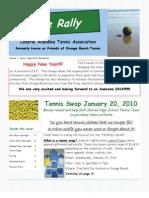 CAT January 2010 Newsletter