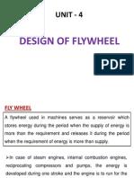 Design of Fly Wheel