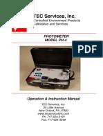 Ph4 Manual