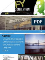 VMworld 2013 Highlights - Sales