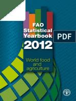 Fao World Food Statistics 2012