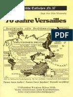Historische Tatsachen - Nr. 37 - Udo Walendy - Siebzig Jahre Versailles (1989, 40 S).pdf