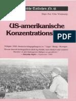 Historische Tatsachen - Nr. 41 - Udo Walendy - US-amerikanische Konzentrationslager (1990, 40 S., Scan).pdf