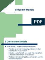curriculummodels