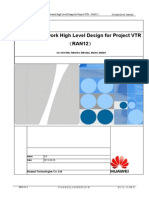 IPRAN Network High Level Design for Project VTRú¿RAN12ú®