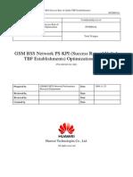 53 GSM BSS Network PS KPI _Success Rate of Uplink TBF Establishments_ Optimization Manual[1]