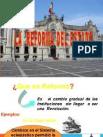 Reforma del Estado