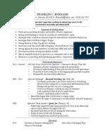 frank burnash resume - 2014