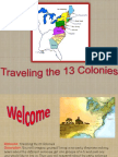 traveling the 13 colonies
