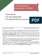 6-Superescalares y VLIW