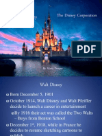 walt disney and disney corporation