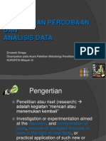 Rancangan Percobaan Dan Analisis Data Erna Mei2012