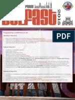 Programme 8th Dec 2014