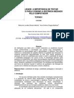 Usabilidade- A Importância de Testar Interfaces Para o Ensino a Distância Mediado Pelo Computador