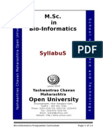 bioinformatics semester 8th