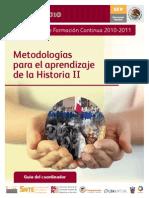 Metodologias Para El Aprendizaje de La Historia II