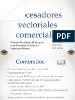 Procesadores Vectoriales Comerciales Presentacion