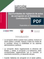 Vigilancia de Actos de Corrupcion en El Sistema de Contratacion Publica