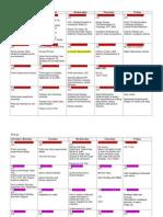 updated planning calendar