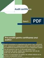Audit Certificare