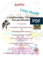 AMC Pancake Breakfast Poster 2014
