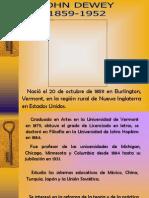 Exposicion de Jhon Dewey Documento