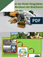 Biodiesel Dan Bioethanol Singkong