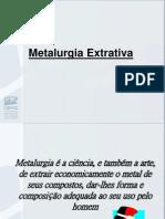 Aula+2-+Metalurgia+Extrativa
