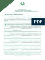Requerimento Medida Excecional de Apoio Ao Emprego - Redução de 0,75% Da Taxa Contributiva a Cargo Da Entidade Empregadora