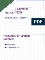 Chapter 7 Random Number Generation