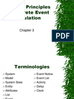 Chapter3 - General Principles of Discrete Event Simulation