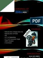 Marketing Strategy of Pulsar