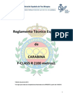 Reglamento Tecnico Carabina Mini Fclass r