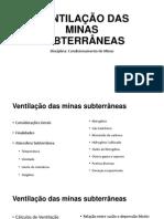 220335482 Ventilacao Das Minas Subterraneas