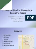 expanding hamline university-powerpoint