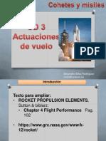 Cochetes y Misiles 03 Actuaciones de Vuelo