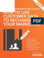 The Three Step Marketing Audit How to Use Customer Data to Recharge Your Marketing