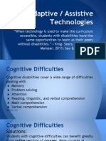 adaptive - assistive technologies
