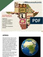 PROJEKT GJEOGRAFIE ....AFRIKA  ....