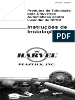 Fire Sprinkler Installation Instructions Portugues