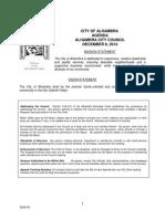 Alhambra City Council Agenda Dec 8