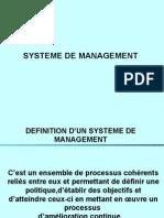 1 Système de management detail