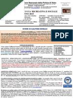 Programma Sociale ANPS Como anno 2015