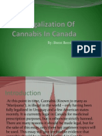 the legalization of cannabis in canada