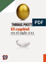 Piketty, Thomas - El Capital en El Siglo XXI -FCE