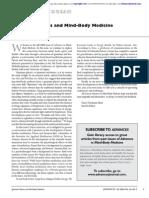 Quantum Physics and Mind-Body Medicine