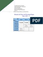 Cronograma Detallado 2014-2