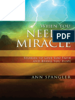 When You Need a Miracle by Ann Spangler, Excerpt